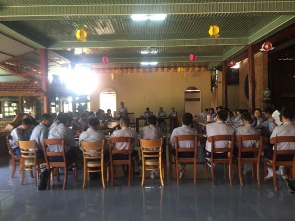 GĐPT Bà Rịa Vũng Tàu tổ chức lễ sơ kết 6 tháng đầu năm 2017