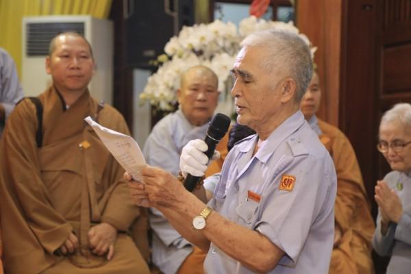 Văn tưởng niệm Giác Linh Đức Cố Trưởng Lão Hòa Thượng thượng Đức hạ Chơn của Hội Đồng Huynh Trưởng Cấp Dũng GĐPTVN