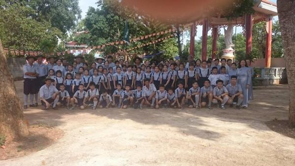 Ban Hướng Dẫn GĐPT Bà Rịa Vũng Tàu thăm các đơn vị trong tỉnh nhân mùa Phật đản PL 2562