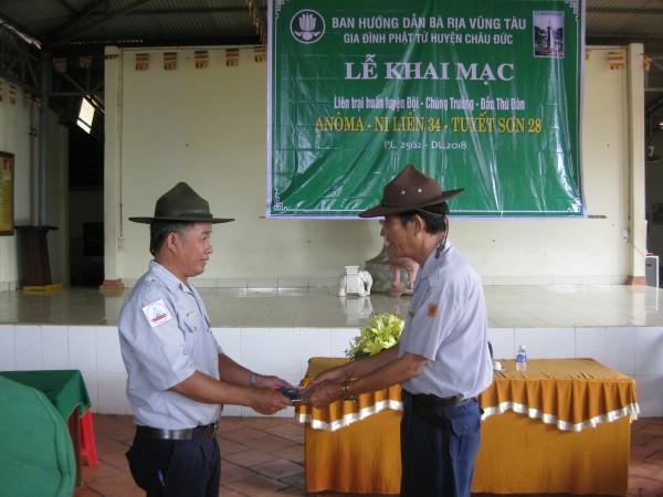 Liên trại HL Anoma-Nilien 34 -Tuyết  Sơn 28-GĐPT Bà Rịa Vũng Tàu