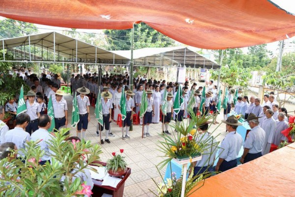 Kỷ niệm 35 năm GĐPT huyện Xuyên Mộc