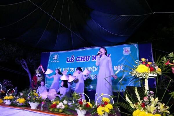 Hình ảnh văn nghệ mừng chu niên lần thứ 35 GĐPT huyện Xuyên Mộc