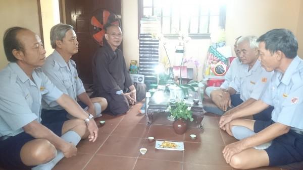BHD.GĐPT Bà Rịa Vũng Tàu thăm chúc tết, vấn an Chư Tôn Đức