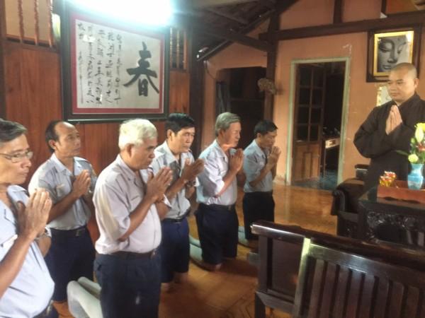 BHD BRVT dự lễ tất niên tại chùa Thiên Quang