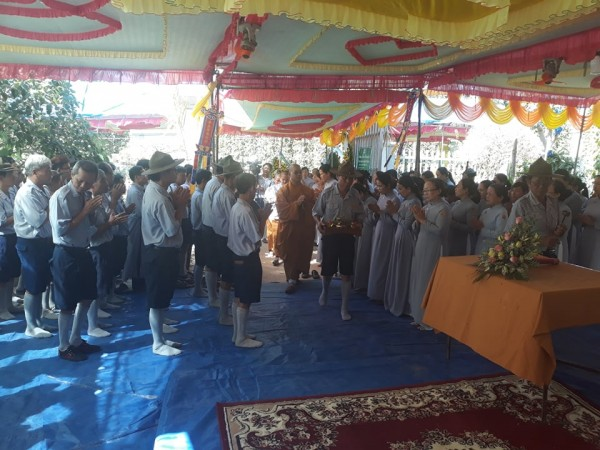 Lễ tưởng niệm và lễ viếng cố HTr cấp Tấn Tâm Trí-Nguyễn Văn Đơn