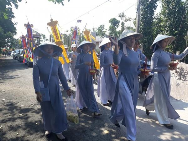 Lễ di quan cố HTr cấp Tấn Tâm Trí-Nguyễn Văn Đơn