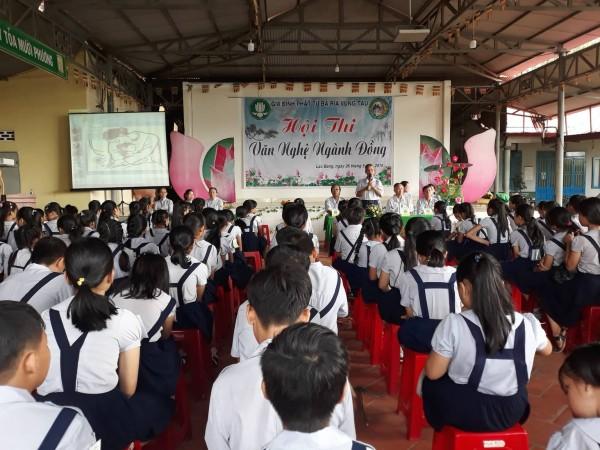 Tường thuật hội thi văn nghệ ngành Đồng GĐPT Bà Rịa Vũng Tàu năm 2019