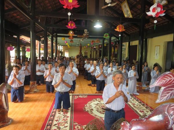 GĐPT Bà Rịa Vũng Tàu sinh hoạt Cấp và tưởng niệm Trưởng lão Ht Thích Trí Quang