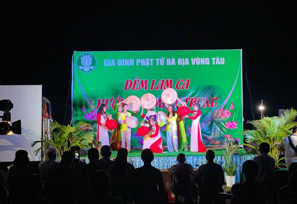 GĐPT Vùng Lộc Uyển tổ chức đêm Lam ca HƯỚNG VỀ MIỀN TRUNG