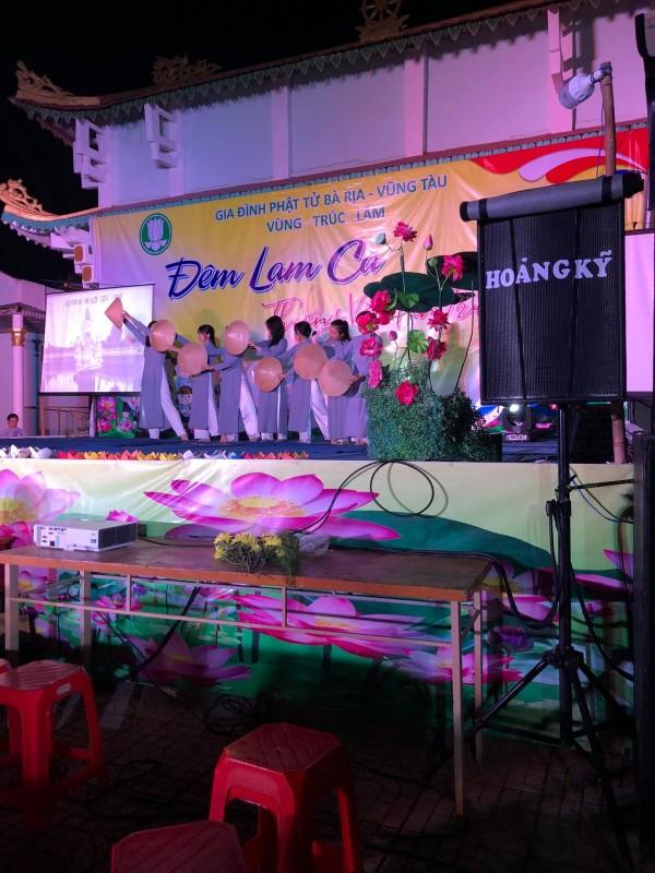Đêm Lam ca THƯƠNG VỀ MIỀN TRUNG  GĐPT Vùng Trúc Lâm, huyện Châu Đức