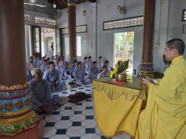 GDPT Bà Rịa Vũng Tàu tổ chức tu Bát Quan Trai kỳ 4/2020