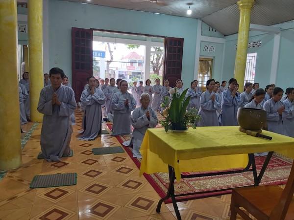 GĐPT Bà Rịa Vũng Tàu tổ chức tu Bát Quan Trai kỳ 5/2020