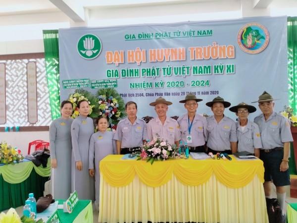 Ban Hướng Dẫn GĐPT Bà Rịa Vũng Tàu tham dự đại hội HT toàn quốc lần thứ XI