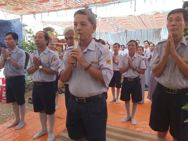 GĐPT Bà Rịa Vũng Tàu viếng tang